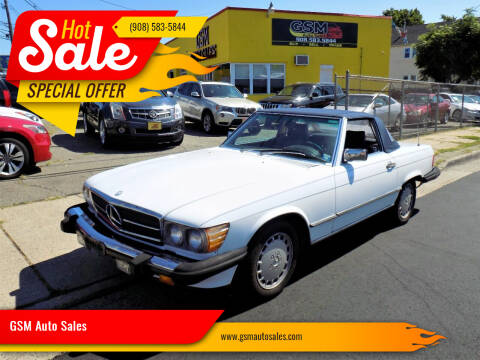 1987 Mercedes-Benz 560-Class for sale at GSM Auto Sales in Linden NJ