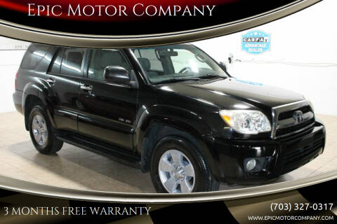 2008 Toyota 4Runner for sale at Epic Motor Company in Chantilly VA