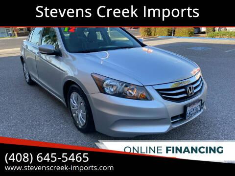2012 Honda Accord for sale at Stevens Creek Imports in San Jose CA