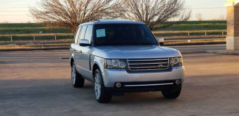 2010 Land Rover Range Rover for sale at America's Auto Financial in Houston TX