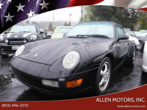 1995 Porsche 911 for sale at Allen Motors, Inc. in Thousand Oaks CA