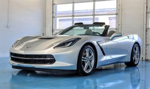 2016 Chevrolet Corvette for sale at Mershon's World Of Cars Inc in Springfield OH