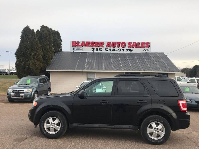 2011 Ford Escape for sale at BLAESER AUTO LLC in Chippewa Falls WI