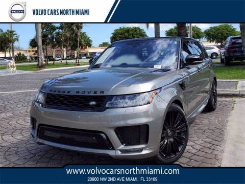 2019 Land Rover Range Rover Sport for sale at Volvo Cars North Miami in Miami FL