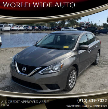 2016 Nissan Sentra for sale at World Wide Auto in Fayetteville NC
