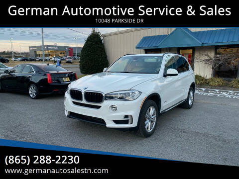 2015 BMW X5 for sale at German Automotive Service & Sales in Knoxville TN