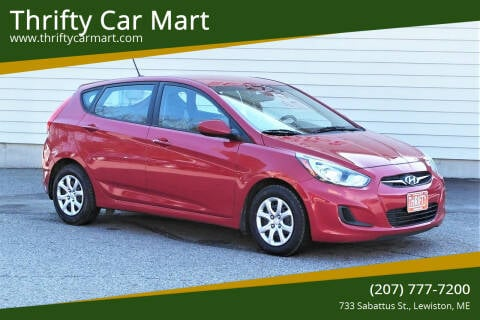 2014 Hyundai Accent for sale at Thrifty Car Mart in Lewiston ME