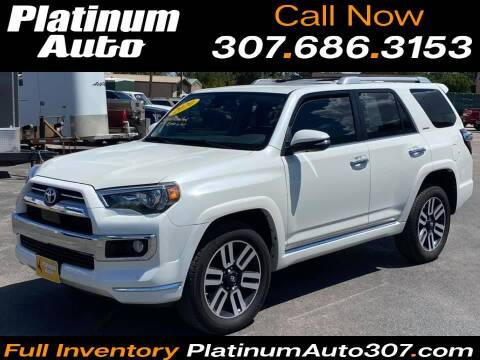 2020 Toyota 4Runner for sale at Platinum Auto in Gillette WY