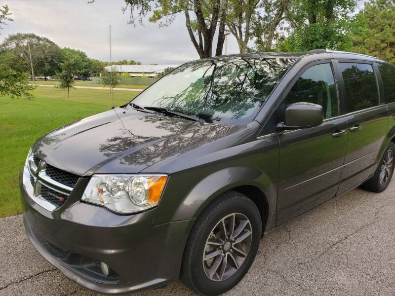 2017 Dodge Grand Caravan for sale at ATCO Trading Company in Houston TX