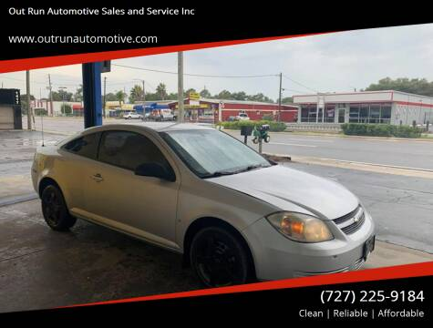 2008 Chevrolet Cobalt for sale at Out Run Automotive Sales and Service Inc in Tampa FL