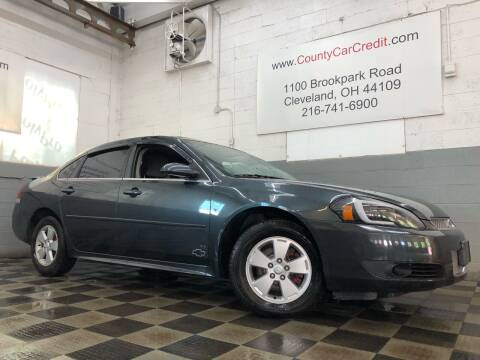 2013 Chevrolet Impala for sale at County Car Credit in Cleveland OH