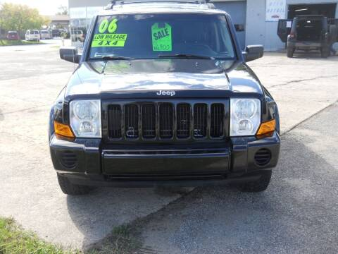 2006 Jeep Commander for sale at Shaw Motor Sales in Kalkaska MI