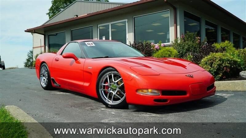 2001 Chevrolet Corvette for sale at WARWICK AUTOPARK LLC in Lititz PA