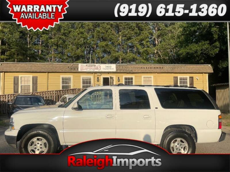 2004 Chevrolet Suburban for sale at Raleigh Imports in Raleigh NC