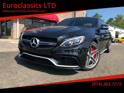 2015 Mercedes-Benz C-Class for sale at Euroclassics LTD in Durham NC