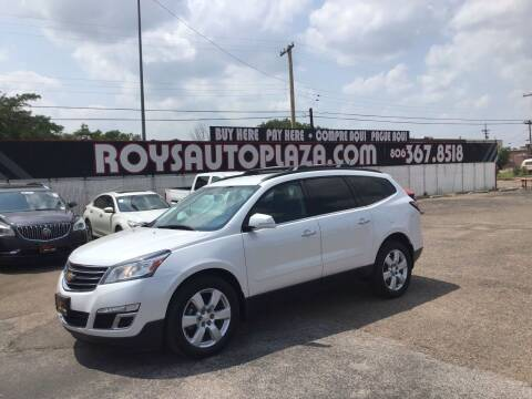 2016 Chevrolet Traverse for sale at Roy's Auto Plaza 2 in Amarillo TX