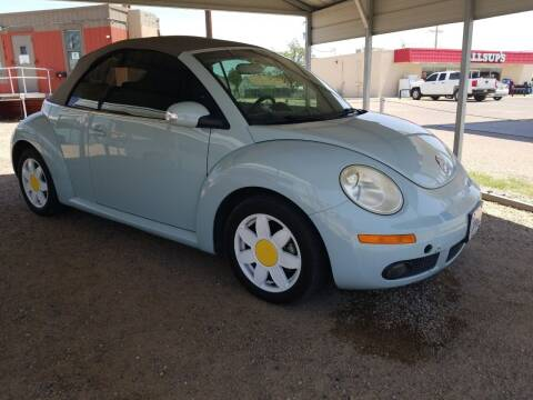 2006 Volkswagen New Beetle Convertible for sale at QUALITY MOTOR COMPANY in Portales NM