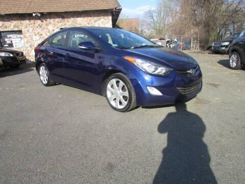 2011 Hyundai Elantra for sale at Nutmeg Auto Wholesalers Inc in East Hartford CT