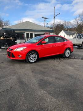 2012 Ford Focus for sale at WXM Auto in Cortland NY