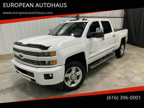 2018 Chevrolet Silverado 2500HD for sale at EUROPEAN AUTOHAUS in Holland MI