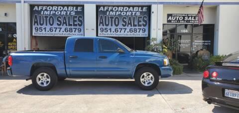 2006 Dodge Dakota for sale at Affordable Imports Auto Sales in Murrieta CA