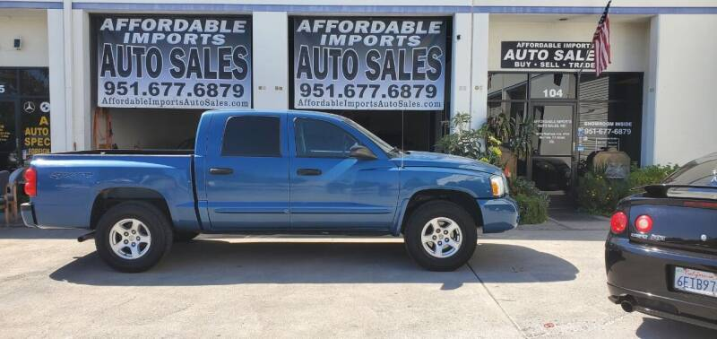 2006 Dodge Dakota for sale at Affordable Imports Auto Sales in Murrieta CA
