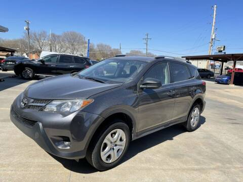2014 Toyota RAV4 for sale at Kansas Auto Sales in Wichita KS