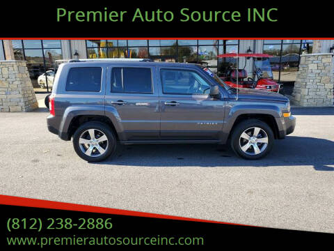 2017 Jeep Patriot for sale at Premier Auto Source INC in Terre Haute IN
