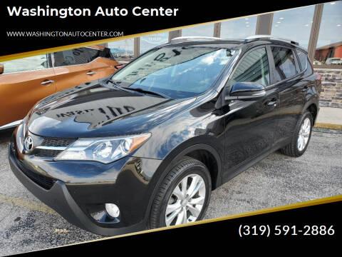 2015 Toyota RAV4 for sale at Washington Auto Center in Washington IA