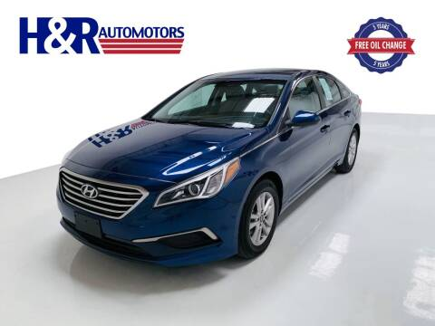2017 Hyundai Sonata for sale at H&R Auto Motors in San Antonio TX