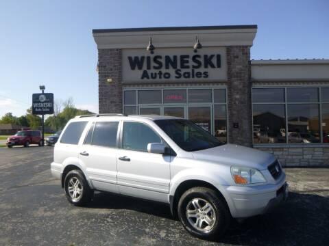 2004 Honda Pilot for sale at Wisneski Auto Sales, Inc. in Green Bay WI