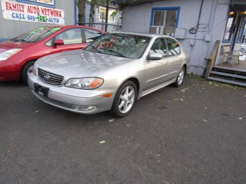 2004 Infiniti I35 for sale at ARISTA CAR COMPANY LLC in Portland OR