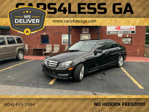 2013 Mercedes-Benz C-Class for sale at Cars4Less GA in Alpharetta GA
