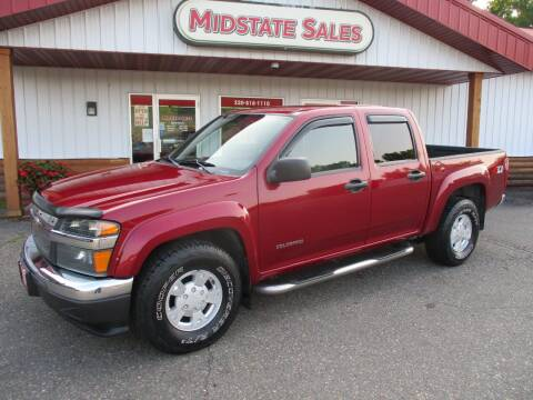 2005 Chevrolet Colorado for sale at Midstate Sales in Foley MN