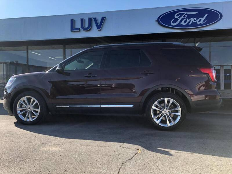 2018 Ford Explorer for sale at Luv Motor Company in Roland OK