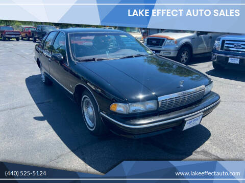 1994 Chevrolet Caprice for sale at Lake Effect Auto Sales in Chardon OH