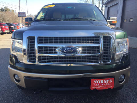 2012 Ford F-150 for sale at NORM'S USED CARS INC - Trucks By Norm's in Wiscasset ME