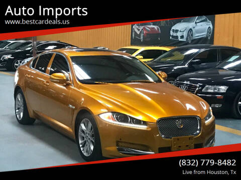 2013 Jaguar XF for sale at Auto Imports in Houston TX