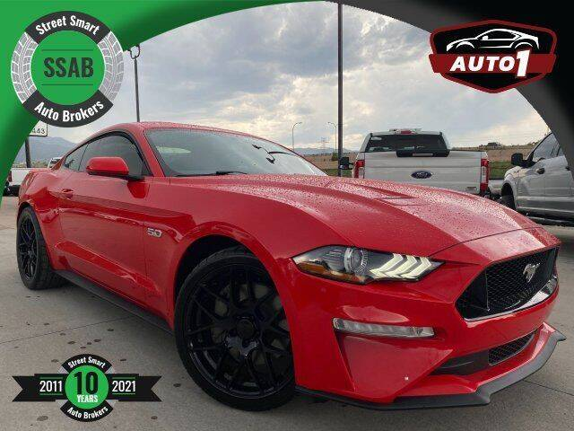 2018 Ford Mustang for sale at Street Smart Auto Brokers in Colorado Springs CO