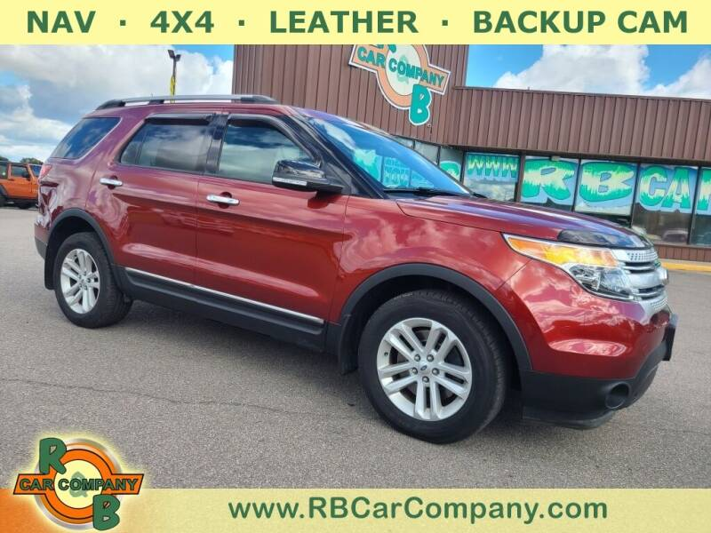 2014 Ford Explorer for sale at R & B Car Co in Warsaw IN