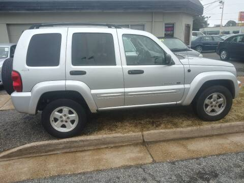 2002 Jeep Liberty for sale at Charles Baker Jeep Honda in Norfolk VA