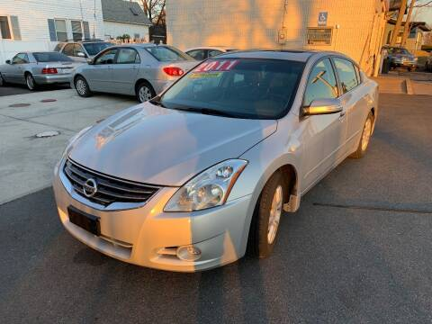2011 Nissan Altima for sale at Quincy Shore Automotive in Quincy MA