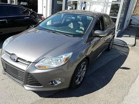 2014 Ford Focus for sale at Cj king of car loans/JJ's Best Auto Sales in Troy MI