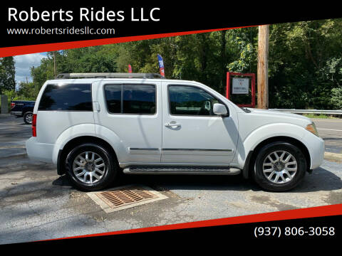 2010 Nissan Pathfinder for sale at Roberts Rides LLC in Franklin OH
