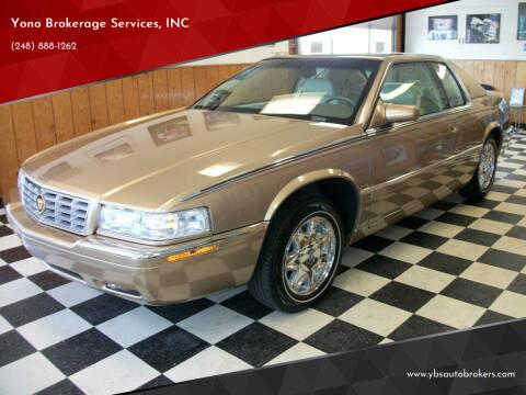 1999 Cadillac Eldorado for sale at Yono Brokerage Services, INC in Farmington MI