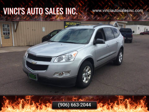 2011 Chevrolet Traverse for sale at Vinci's Auto Sales Inc. in Bessemer MI