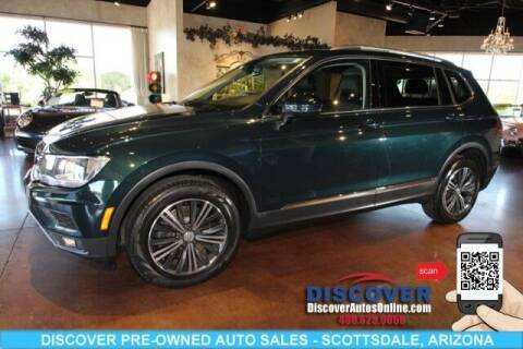 2018 Volkswagen Tiguan for sale at Discover Pre-Owned Auto Sales in Scottsdale AZ