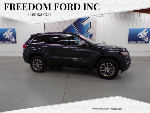 2014 Jeep Grand Cherokee for sale at Freedom Ford Inc in Gunnison UT