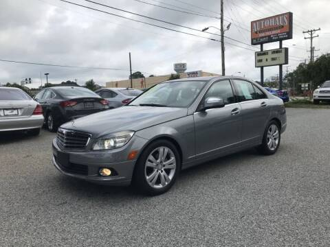 2009 Mercedes-Benz C-Class for sale at Autohaus of Greensboro in Greensboro NC