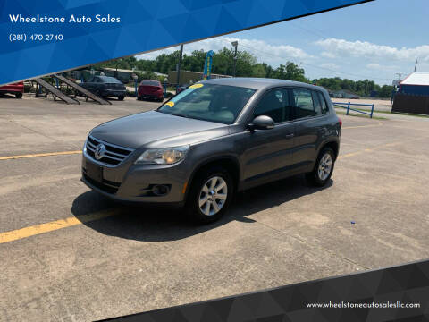 2010 Volkswagen Tiguan for sale at Wheelstone Auto Sales in La Porte TX